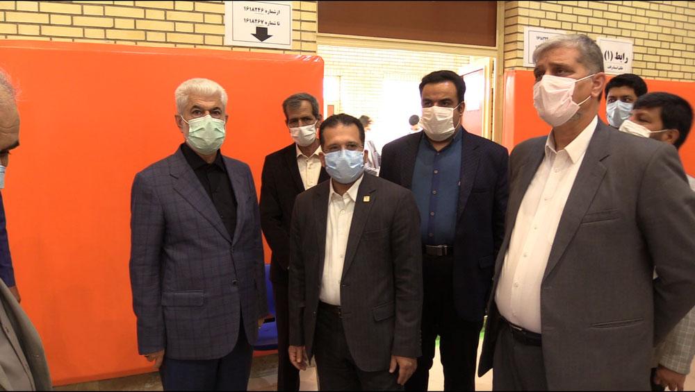 بازدید دکتر شهریاری رئیس محترم کمیسیون بهداشت و درمان مجلس شورای اسلامی